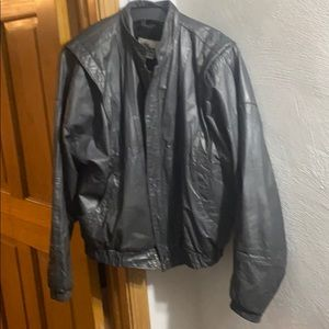 Wilson Vintage Leatherjacket w zip out lining 46